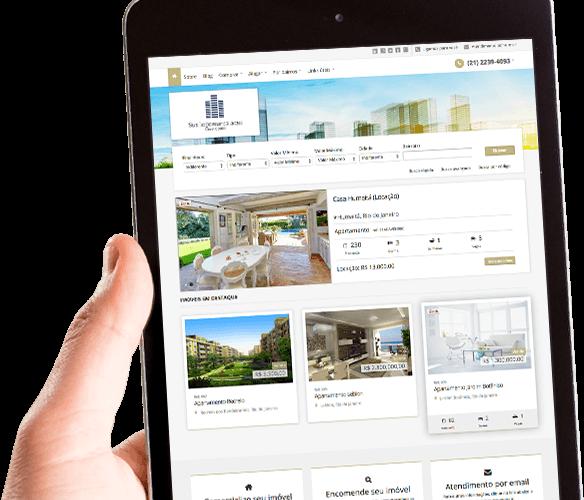 site imobiliário